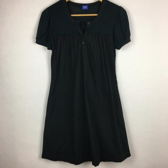 Talula Dresses & Skirts - Talula Aritzia Black Cotton Short Sleeve Dress